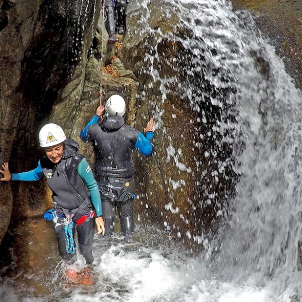Canyoning sportif : Le Tapoul