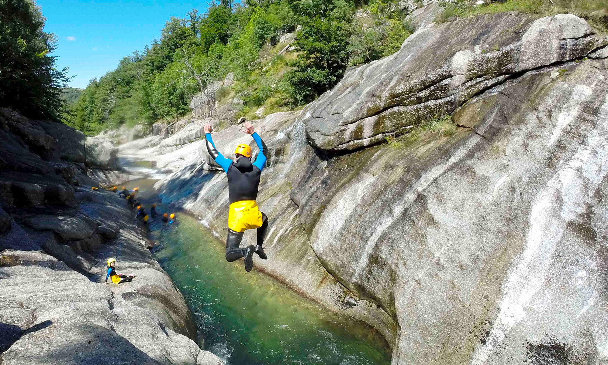 Canyon famille : Sources du Tarn