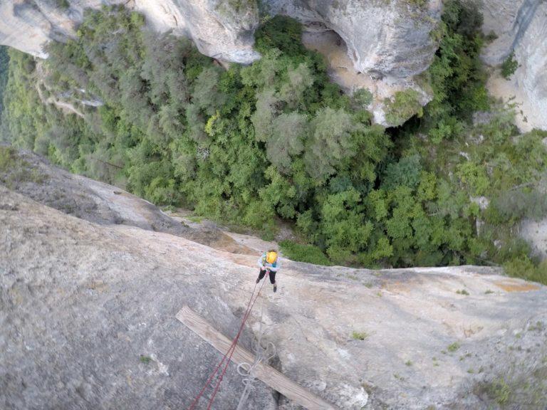 rappel Parcours aventure