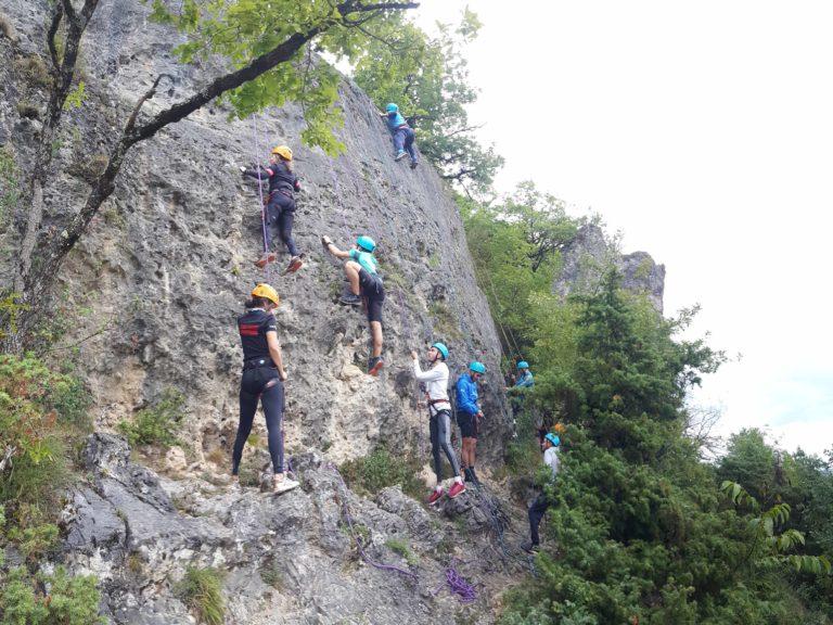 Groupe moniteur Gorges du tarn bureau sainte enimie activités loisirs nature sport plein air lozère